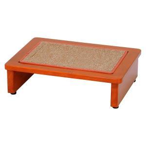 玄関踏み台 45cm幅 木製 玄関台 ステップ アジャスター付き 〔マット付き〕|table-lukit