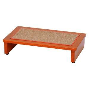 玄関踏み台 60cm幅 木製 玄関台 ステップ アジャスター付き 〔マット付き〕|table-lukit