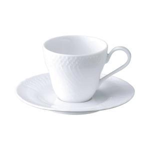 アンジェ コーヒーカップ&ソーサー 白い食器 cafe カフェ 食器 業務用 日本製 tablewareshop