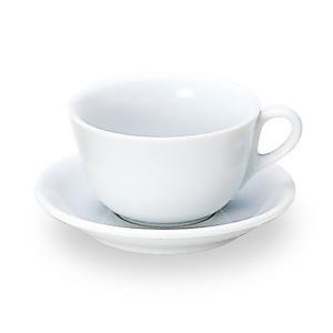 エクシブ カプチーノカップ&ソーサー 白い食器 cafe カフェ 食器 業務用 日本製 tablewareshop
