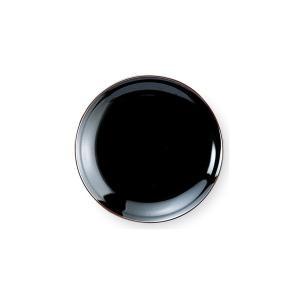 うるし天目 4.0皿(13.1cm) 中華食器 業務用 日本製|tablewareshop