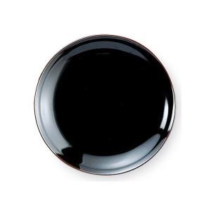 うるし天目 7.0皿(21.3cm) 中華食器 業務用 日本製|tablewareshop