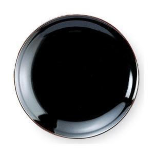 うるし天目 8.0皿(24.5cm) 中華食器 業務用 日本製|tablewareshop