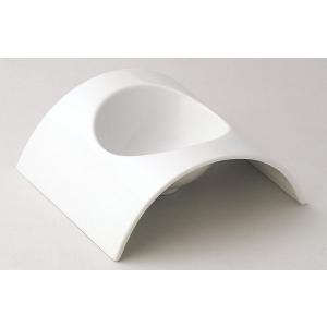 アーチ 17cmアーチボール 白い食器 cafe カフェ 食器 業務用 日本製|tablewareshop