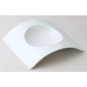 アーチ 23cmスープ皿 白い食器 cafe カフェ 食器 業務用 日本製|tablewareshop