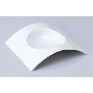 アーチ 21cmスープ皿 白い食器 cafe カフェ 食器 業務用 日本製|tablewareshop