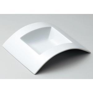 アーチ 23cm角スープ皿|tablewareshop