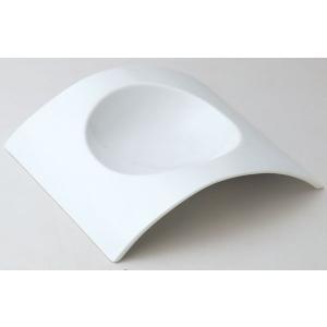 アーチ 25cmスープ皿 白い食器 cafe カフェ 食器 業務用 日本製|tablewareshop