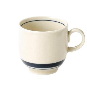 インディゴボーダー アメリカンカップ(265cc) カントリー cafe カフェ 食器 業務用 日本製 tablewareshop