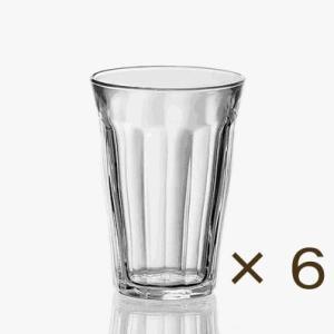 デュラレックス ピカルディー360cc 6個セット DURALEX カフェ 業務用 ガラス 食器 コップ グラス|tablewareshop