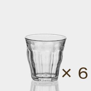 デュラレックス ピカルディー250cc 6個セット DURALEX カフェ 業務用 ガラス 食器 コップ グラス|tablewareshop