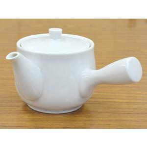 <アウトレット>白急須 ステンレス茶こし付|tablewareshop