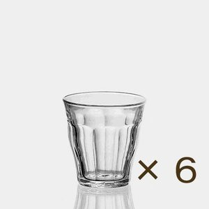 デュラレックス ピカルディー160ml 6個セット DURALEX カフェ 業務用 ガラス 食器 コップ グラス|tablewareshop