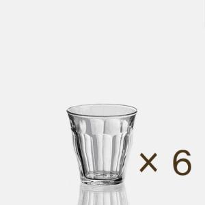 デュラレックス ピカルディ90cc 6個セット DURALEX カフェ 業務用 ガラス 食器 コップ グラス|tablewareshop