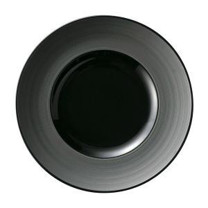 グラシア ブラック 27cmディナー皿 黒い食器 cafe カフェ 食器 業務用 日本製 tablewareshop