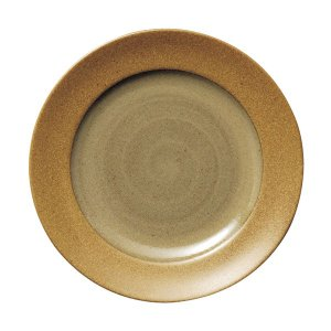 ガイア マスタード 24cmミート皿 cafe カフェ 食器 業務用 日本製|tablewareshop