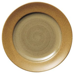 ガイア マスタード 27cmディナー皿 cafe カフェ 食器 業務用 日本製|tablewareshop