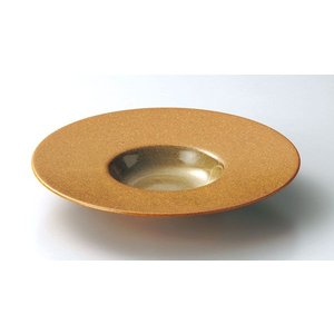 ガイア マスタード 24cm平型スープ|tablewareshop
