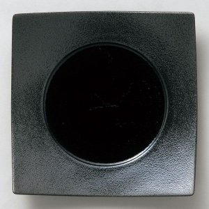 ガイア ブラック 23cmハンププレート|tablewareshop