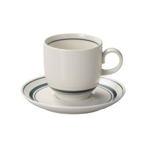 スノートングリーン アメリカンコーヒーカップ&ソーサー カントリー cafe カフェ 食器 業務用 日本製|tablewareshop