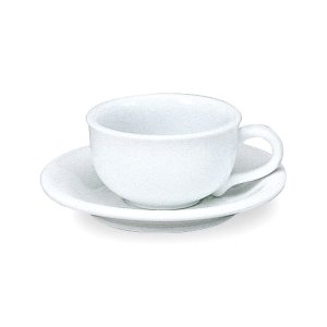 ニューバージョン 紅茶カップ&ソーサー 白い食器 cafe カフェ 食器 業務用 日本製 tablewareshop