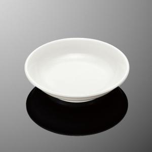 餃子たれ小皿 白 業務用 メラミン 樹脂 中華 ラーメン ギョウザ|tablewareshop