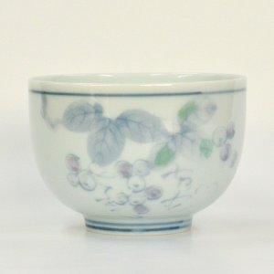 野ぶどう 煎茶碗|tablewareshop