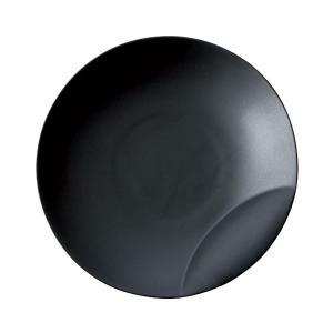 十六夜 [izayoi] 皿M 黒マット 小田陶器|tablewareshop