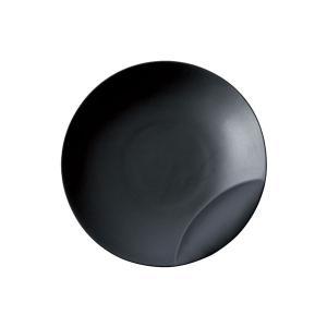 十六夜 [izayoi] 皿S 黒マット 小田陶器|tablewareshop