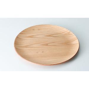 ウッドトレー:ウィローウッド30cm丸トレー|tablewareshop