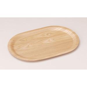 ウッドトレー:ウィローウッド40cnオーバルトレー|tablewareshop