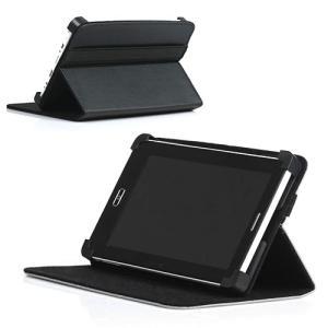 (メール便対応)10.1インチタブレット専用スタンド付レザーケース (タブレット スマホアクセサリー iPad) tabtab