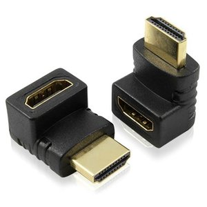 HDMI(メス)/HDMI(オス)L字タイプ 延長アダプタ タブレット付属品 アクセサリー|tabtab