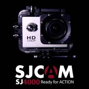 HD液晶搭載 GOPROにも負けない スポーツカメラ SJCAM SJ4000 ブラック 【ドライブレコーダー機能 防水カメラ 自転車 動画】 tabtab