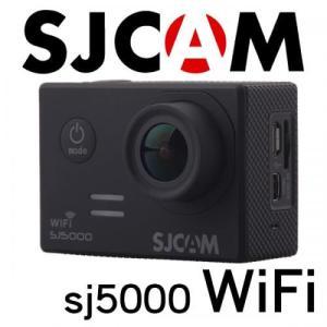 SJCAM SJ5000 WiFiモデル 1080P ブラック 防水アクションカメラ ドライブレコーダー カーマウント、バイクマウント込 海やスポーツ、自転車に! tabtab