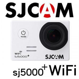 SJCAM SJ5000 Plus WiFiモデル 1080P ホワイト 防水アクションカメラ ドライブレコーダー カーマウント、バイクマウント込 海やスポーツ、自転車に! tabtab