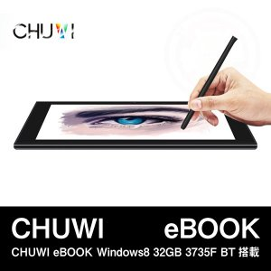 【10.1インチ 10.1型】CHUWI eBOOK Windows8 32GB 3735F BT搭載|tabtab
