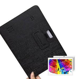 【メール便対応】■10.1インチ TAB G101(kt107)専用高品質レザーカバーケース ブラック|tabtab