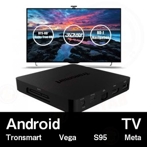 【AndroidTV】Tronsmart Vega S95 Meta (2G/8G+2.4Ghz/5Ghz)Android 5.1 ブラック|tabtab