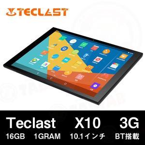 【10.1インチ 10.1型】Teclast X10 3G オクタコア 16GB 1GRAM 10.1インチ MT8392 GPS BT搭載【タブレット PC 本体】|tabtab