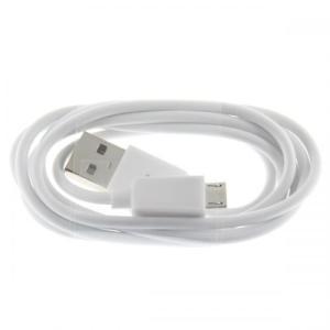(メール便対応)USB-microUSBケーブル ホワイト|tabtab