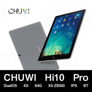 (10.1インチ 10.1型)CHUWI Hi10 Pro DualOS 4G 64G X5-Z8350 IPS BT搭載タブレット(タブレット PC 本体)|tabtab