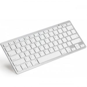 ■乾電池式Bluetooth Wireless キーボード ホワイト(タブレット 付属品 アクセサリー)|tabtab