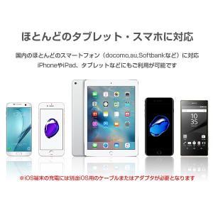 【セール】大容量モバイルバッテリー 10000mAh スマホ iPhone6 充電器 ALPHA LING【アイコス スマートフォン アイフォン】|tabtab|10