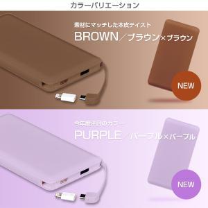 モバイルバッテリー 新型モデル 大容量 iPhone アンドロイド対応 軽量 薄型 10000mAh コード付き2台同時充電可能 送料無料 2A急速充電 セール tabtab 13