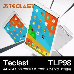 【9.7インチ 9.7型】Teclast TLP98 Adroid4.4 3G 2GBRAM 32GB 9.7インチ BT搭載【タブレット PC 本体】|tabtab