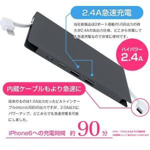 モバイルバッテリー TypeCモデル新登場 NEWモデル 4台同時充電可能 10000mAh 大容量 全てのスマホ、iPhoneシリーズに対応 ALPHA LING w-07|tabtab|07