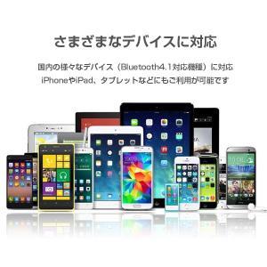ワイヤレス イヤホン Bluetooth イヤフォン ブルートゥース ハンズフリー 通話 音楽 iPhone アイフォン アイホン アンドロイド スマホ|tabtab|10