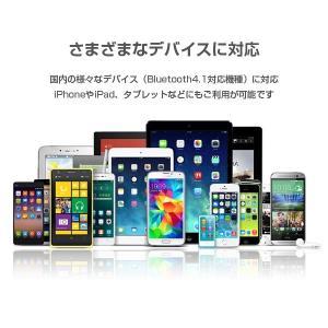 高品質 軽量 ワイヤレス イヤホン Bluetooth4.1 ALPHA LING z-02【ハンズフリー通話 音楽 iPhone アイフォン マグネット】|tabtab|09