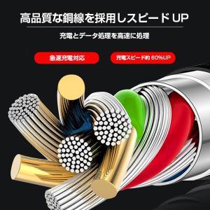 激安 3in1充電ケーブル iPhone Type-C MicroUSB 急速充電 モバイルバッテリー【送料無料】|tabtab|04